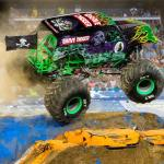 Monster Jam Crushes Through Angel Stadium