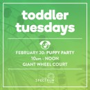 You're Invited: Toddler Tuesdays Puppy Party