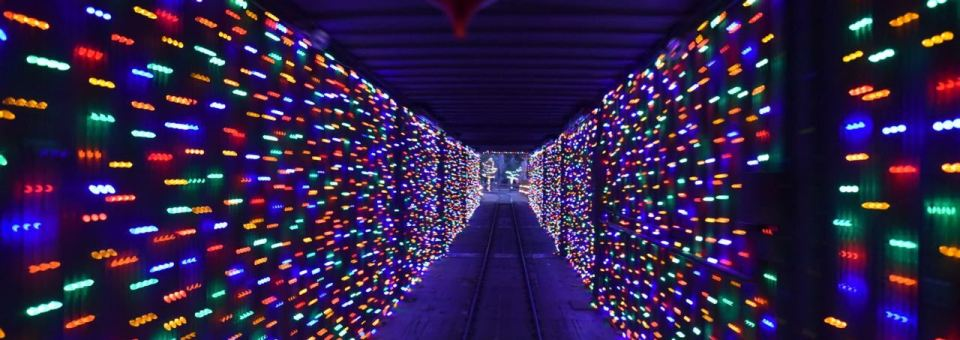 Irvine Park Railroad's 23rd Annual Christmas Train + Giveaway