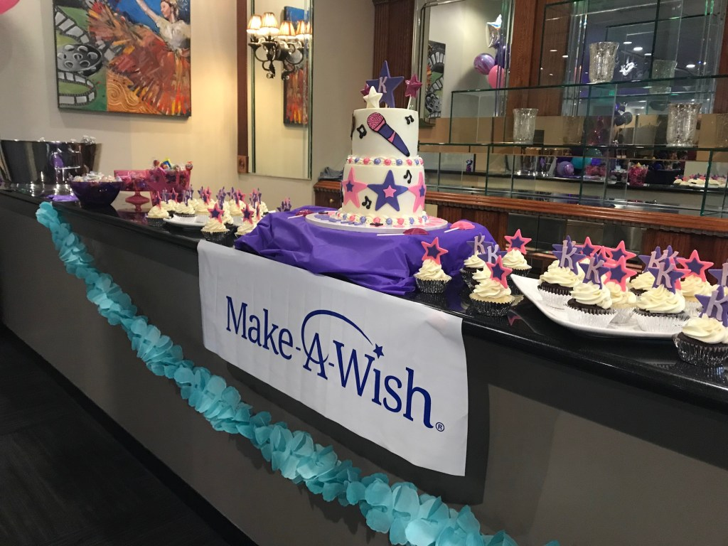 Make-A-Wish desserts at the Orange County School of the Arts (OCSA)