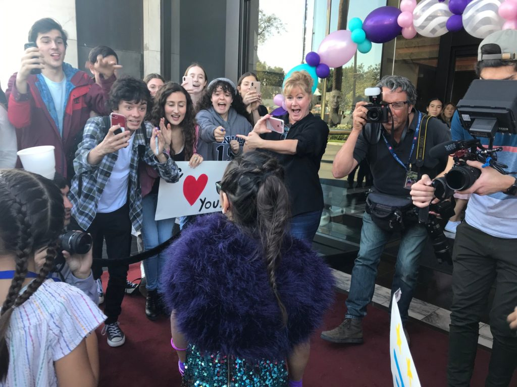 Red Carpet for Kaylin at the Orange County School of the Arts (OCSA)