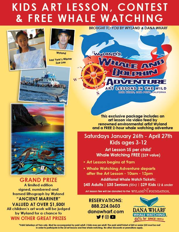 Wyland Art Classes at Dana Wharf