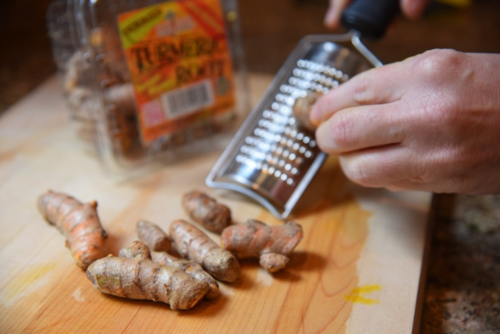 How to prepare Turmeric Root