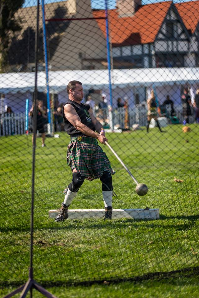Highland Games at The Queen Mary