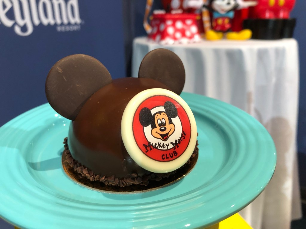 Mickey Mouse Club Dessert at Disneyland