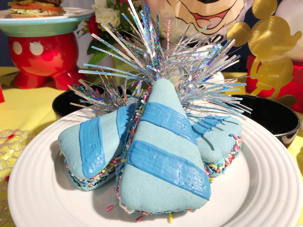 Mickey's Party Hat Macaron at the Disneyland Resort