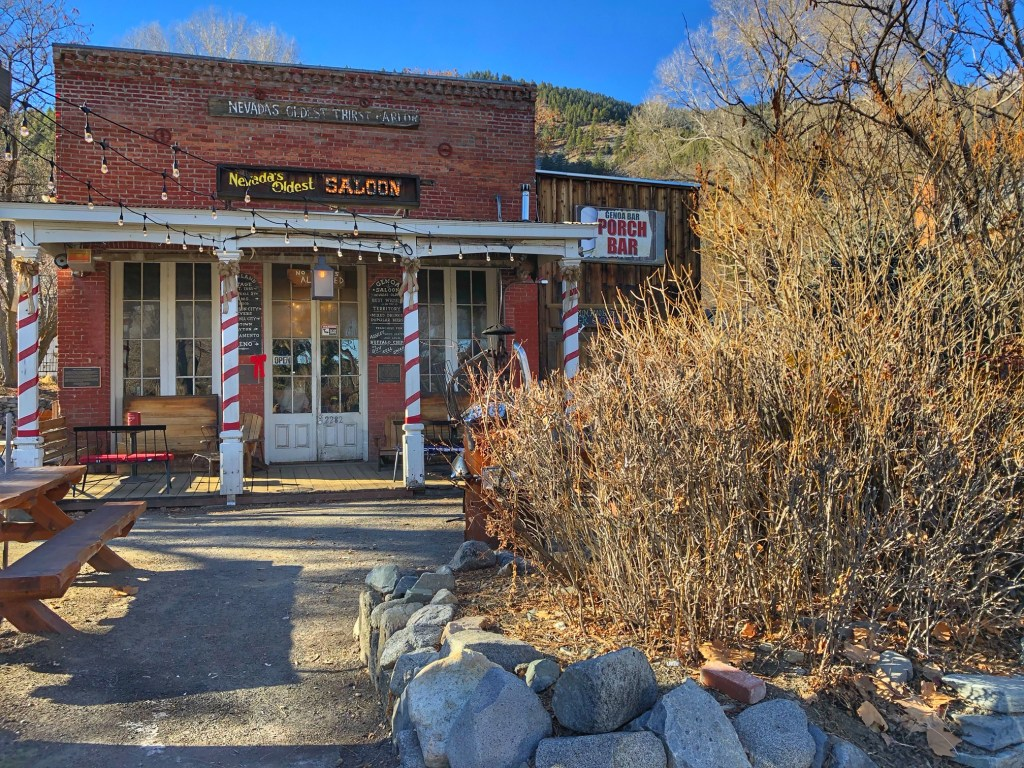 Nevada's oldest saloon