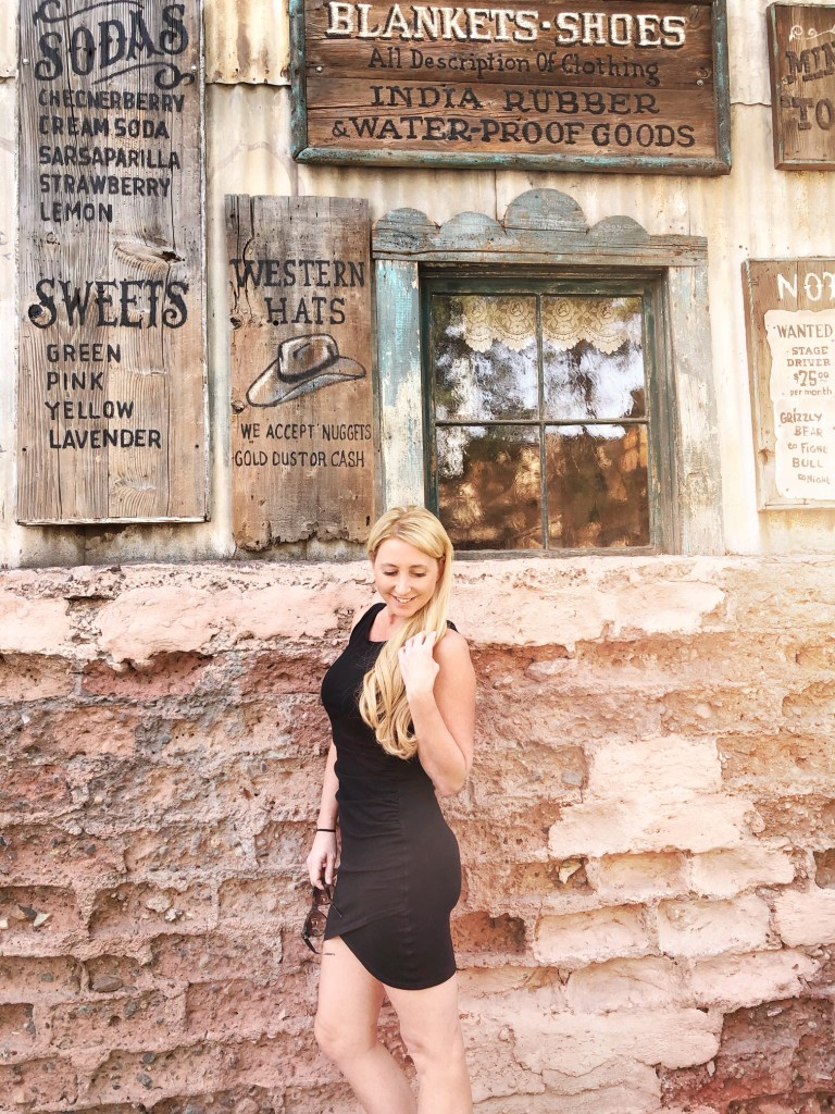 OC Mom in Ghost Town at Knott's Berry Farm