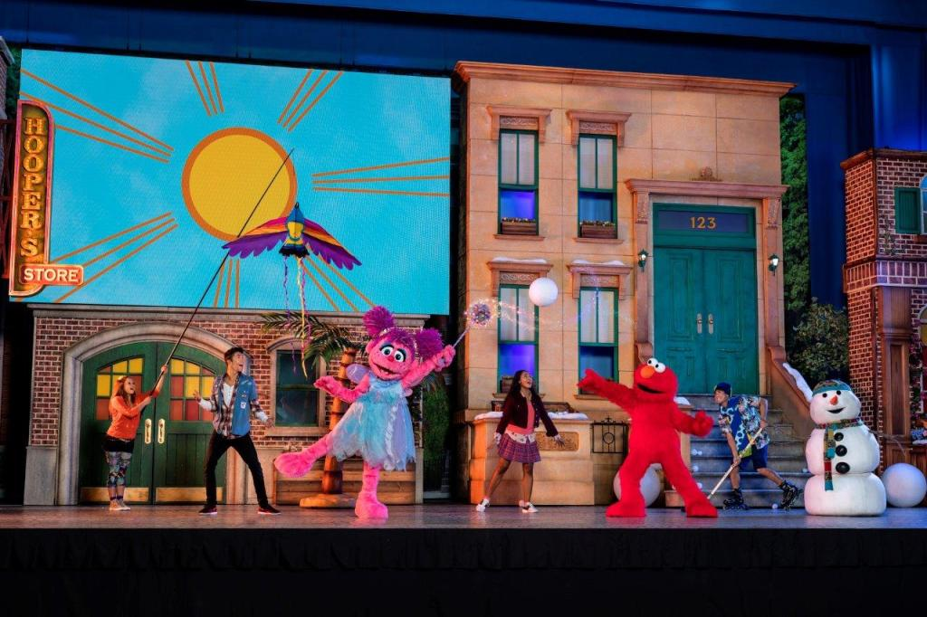 Family fun at Sesame Street Live! Let's Party! in Ontario