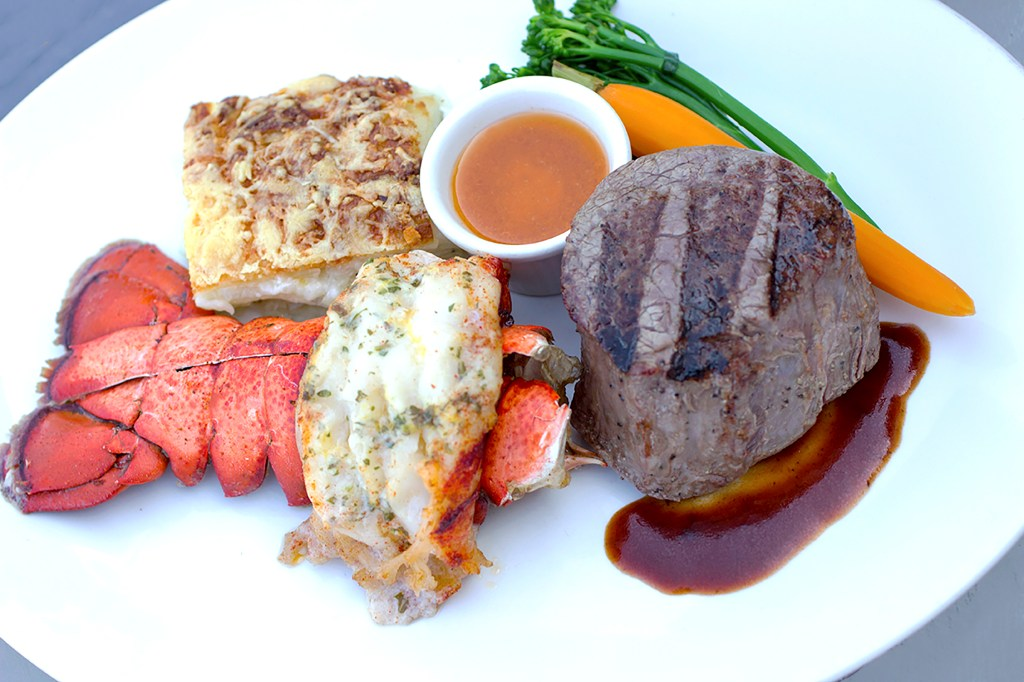 Steak and Lobster at The Summit House