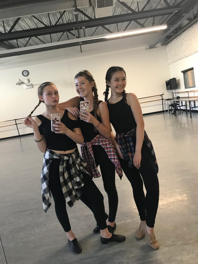The Nutcracker and the Four Realms dance class at OCSA