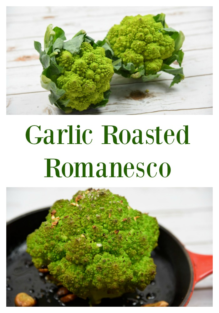 Garlic Roasted Romanesco