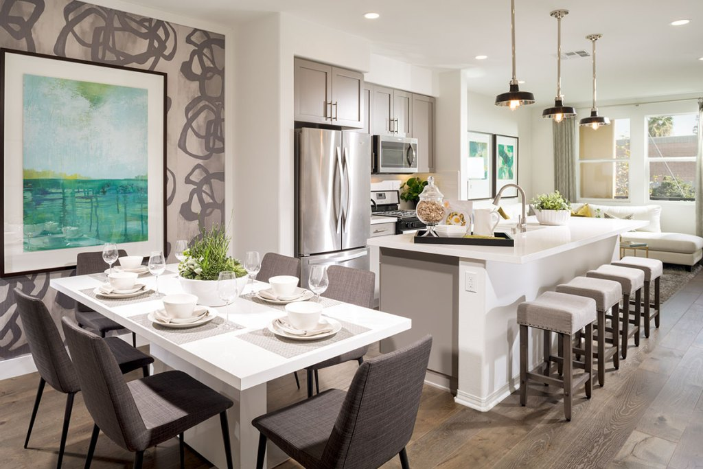 Kitchen at the District Walk in Anaheim
