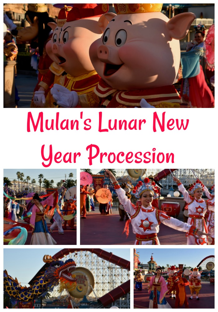 Mulan's Lunar New Year Procession at Disney California Adventure Park