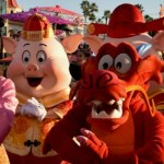 Three Little Pigs Join Mulan's Lunar New Year Procession