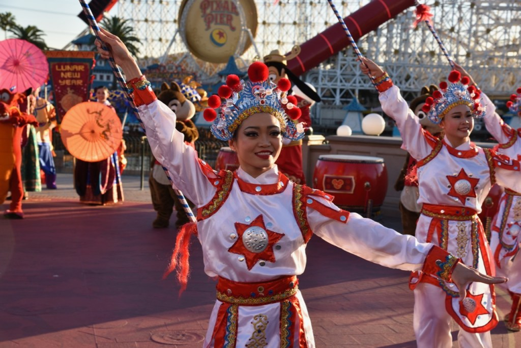 Warrior Dancers in Mulan's Lunar New Year Procession