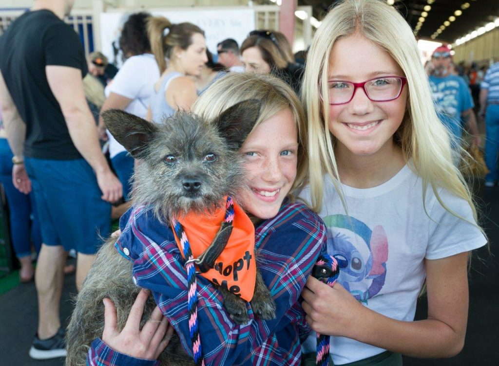 Kids at the America's Family Pet Expo