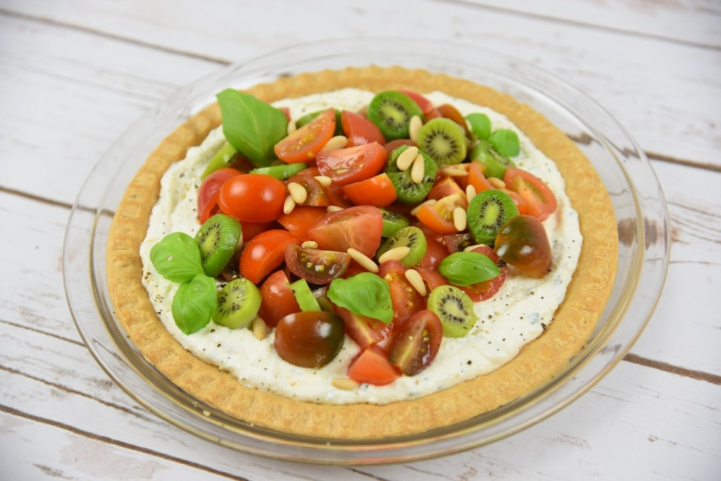 Melissa's Produce Kiwi Berries and Tomato Tart