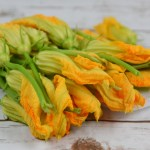 Lemon and Ricotta Stuffed Squash Blossoms