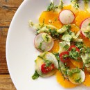 Tangerine and Radish Salad with Fresh Mint and Fennel