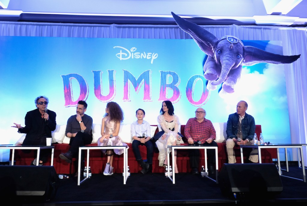The actors in Disney's Dumbo