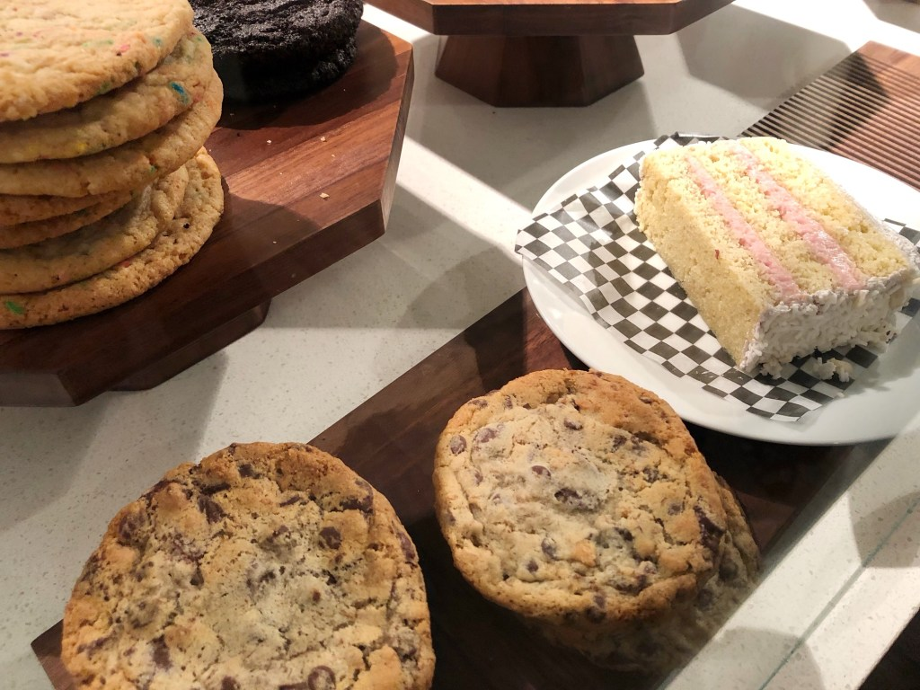Cookies and pie at Noble Folk Ice Cream and Pie Bar