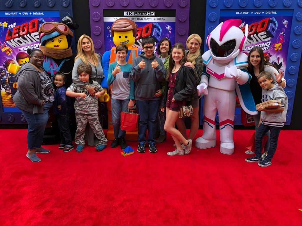 Family fun at the Lego Movie 2- The Second Part premiere
