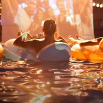 Summer Dive-In Movies at Fashion Island Hotel