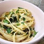 Caramelized Onion and Swiss Chard Pasta Recipe