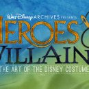D23 Expo: Walt Disney Archives Presents Heroes and Villains: The Art of the Disney Costume