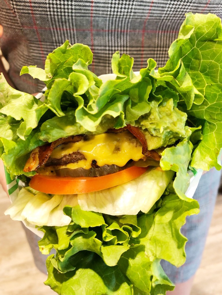 Healthy Burgers at Farmer Boys