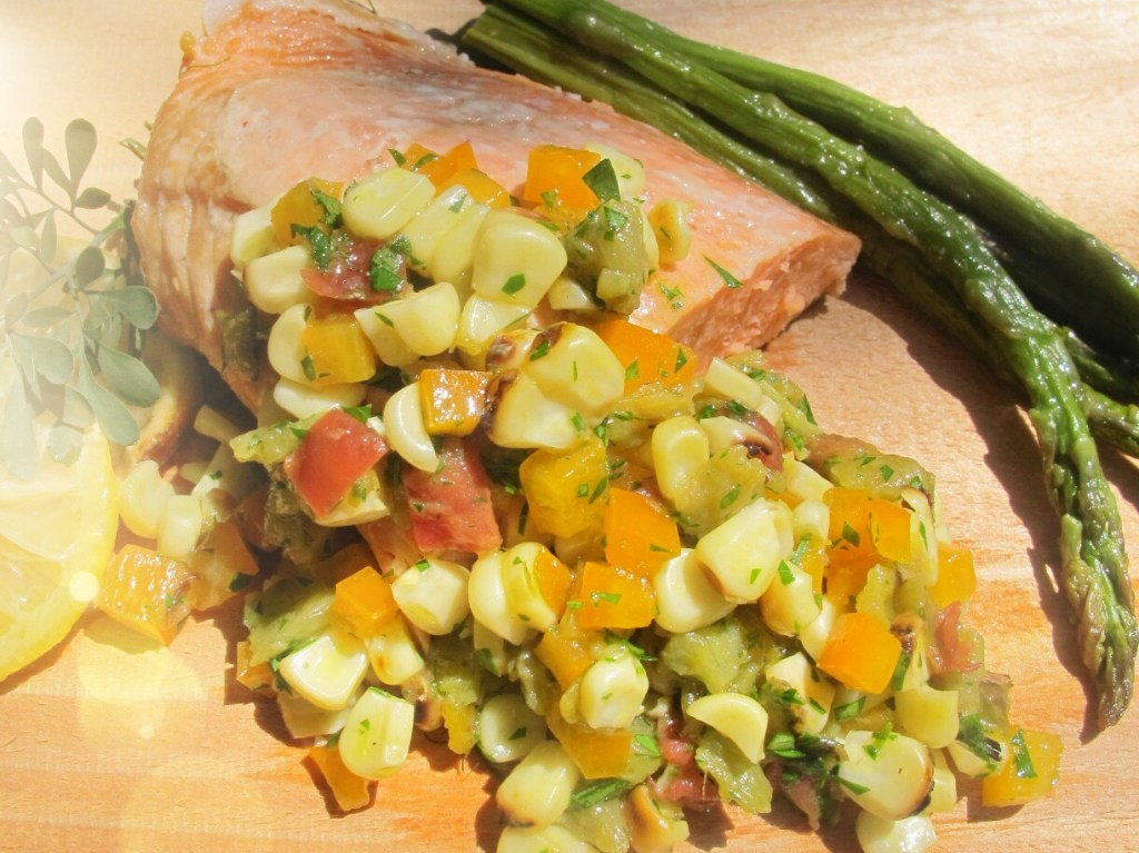 Salmon and Hatch Chile Recipe