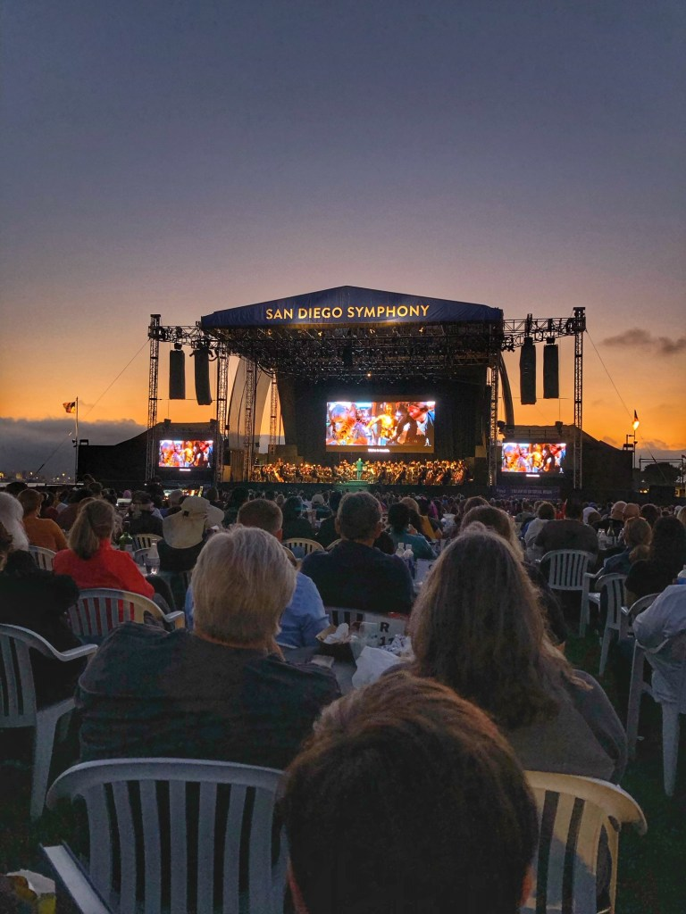 San Diego Symphony concerts by the bay
