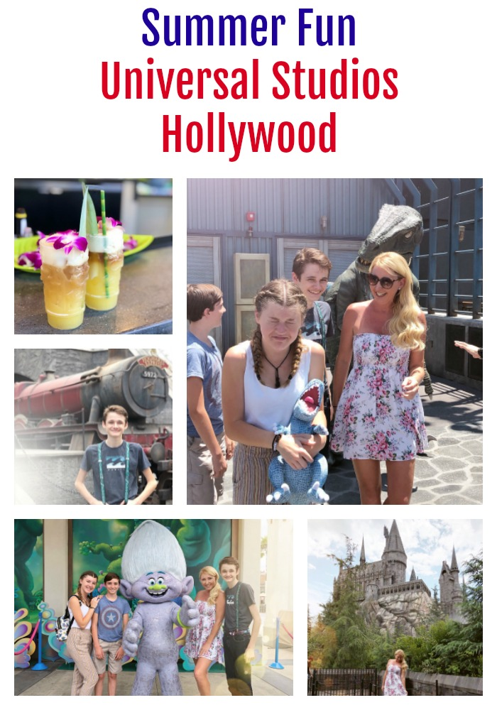 Summer at Universal Studios Hollywood