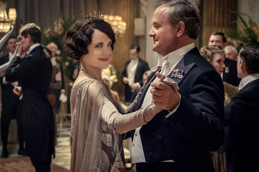 Dancing scene in Downtown Abbey