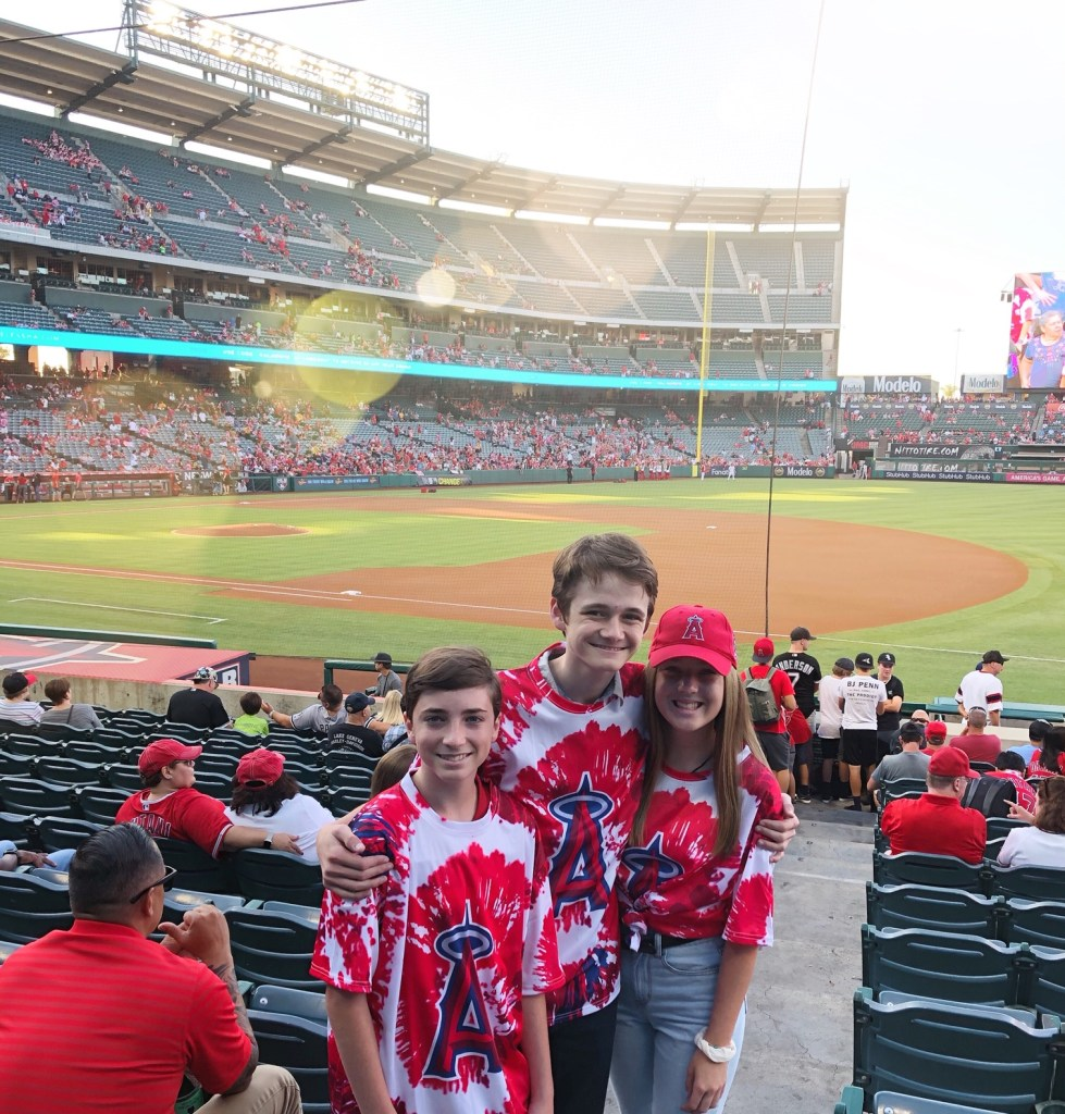 Family Fun at Angels Baseball