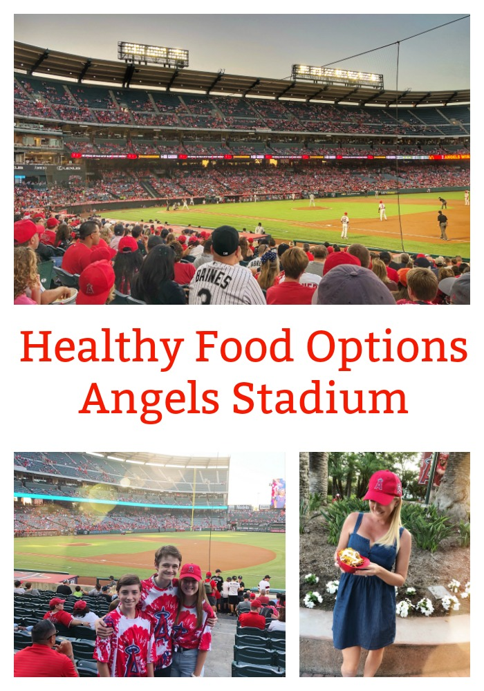 Healthy Food Options at Angels Stadium