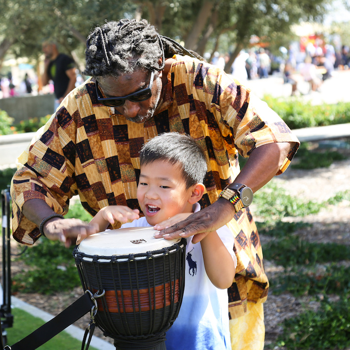 Music at the Global Village Festival
