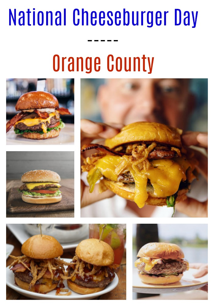 National Cheeseburger Day in Orange County
