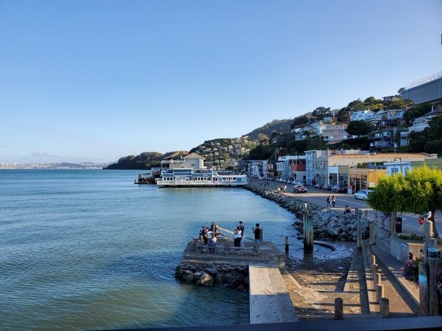 View of Sausalito