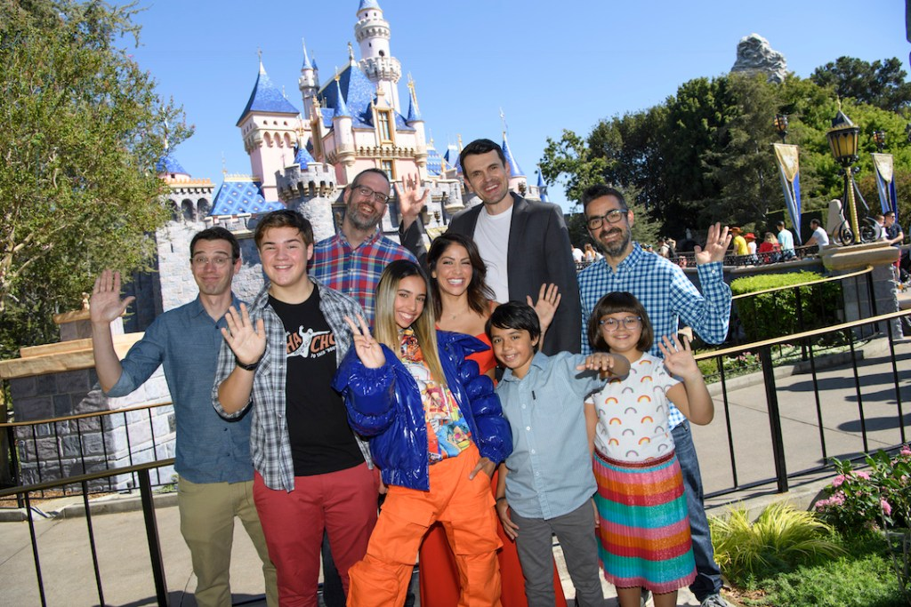 Cast of Gabby Duran at Disneyland