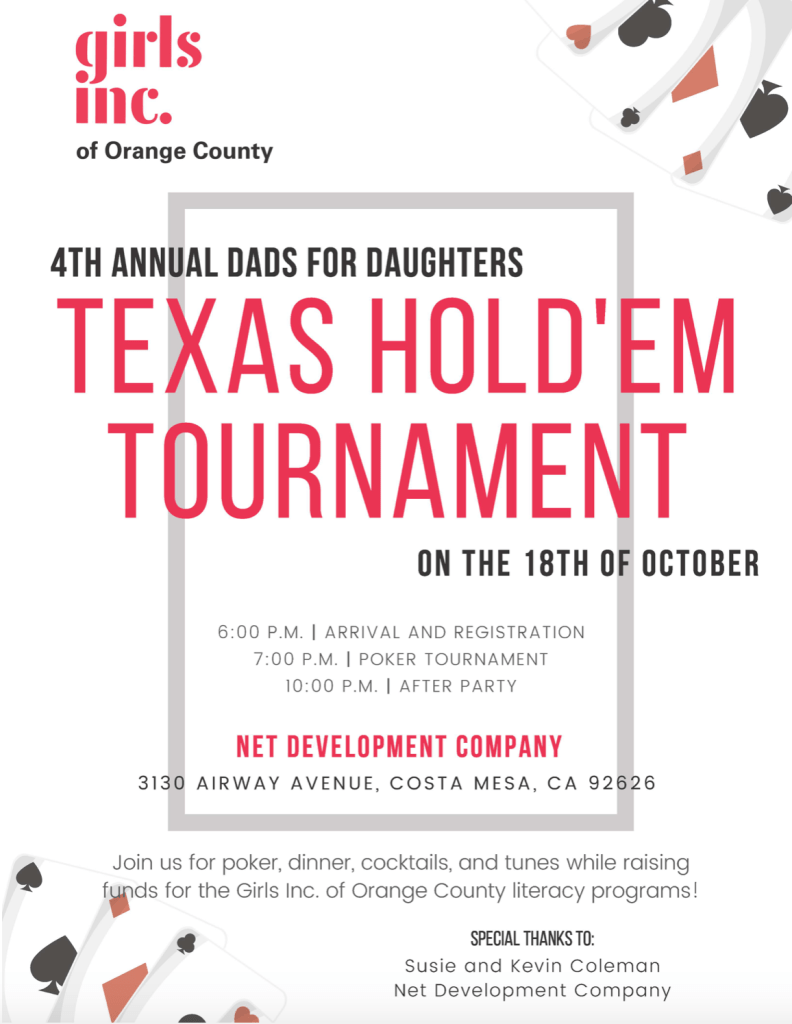 Dads for Daughters Tournament for Girls Inc