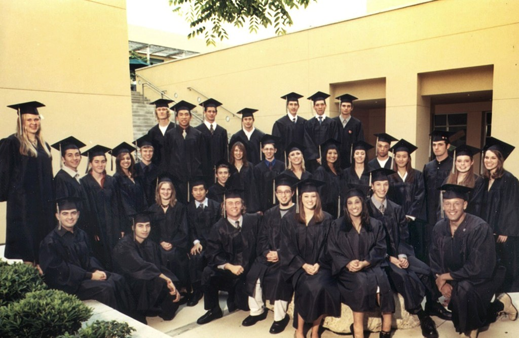 Sage Hill First Graduation Class Photo (2003)
