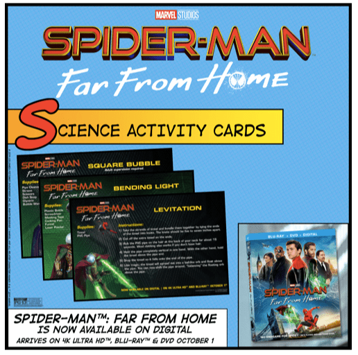 Spider-Man Science Experiments