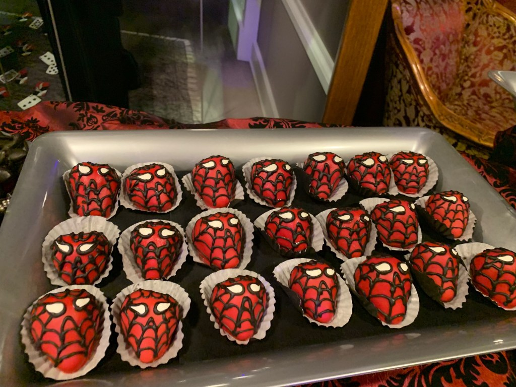 Spider-Man treats