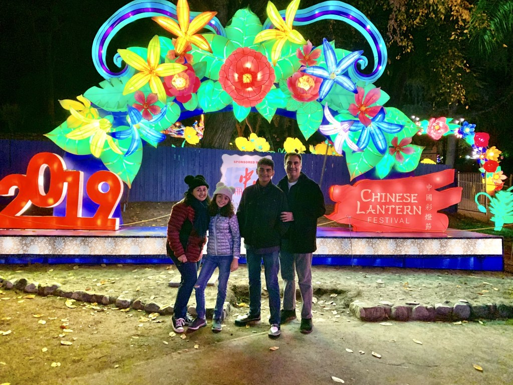 Family fun at the Chinese Lantern Festival
