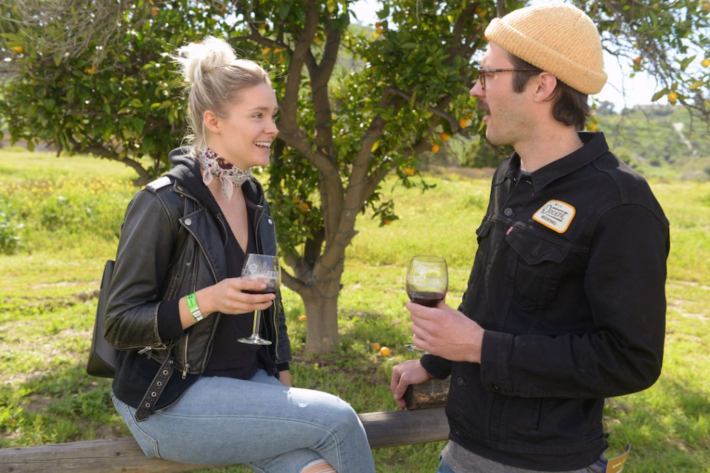 Couples at the OC Wine Fest