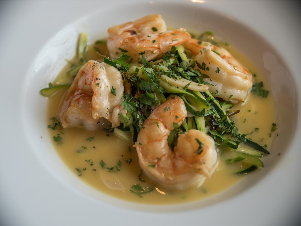Shrimp Scampi at Davio's Northern Italian Steakhouse