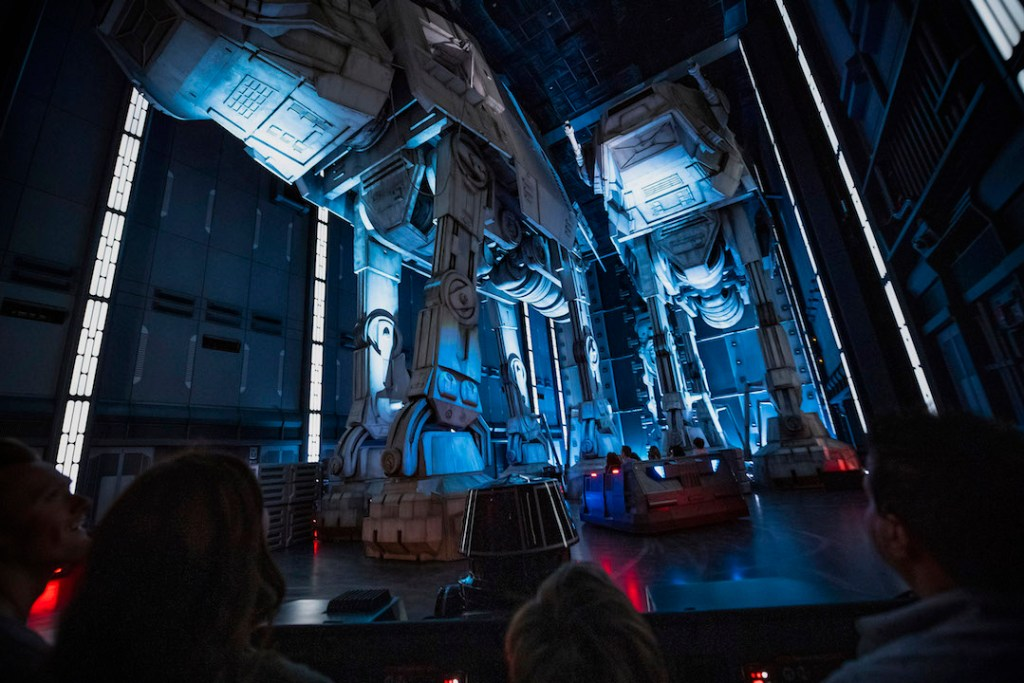Star Wars Rise of the Resistance at the Disneyland Resort