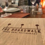 Dining at The Boardwalk in Huntington Beach
